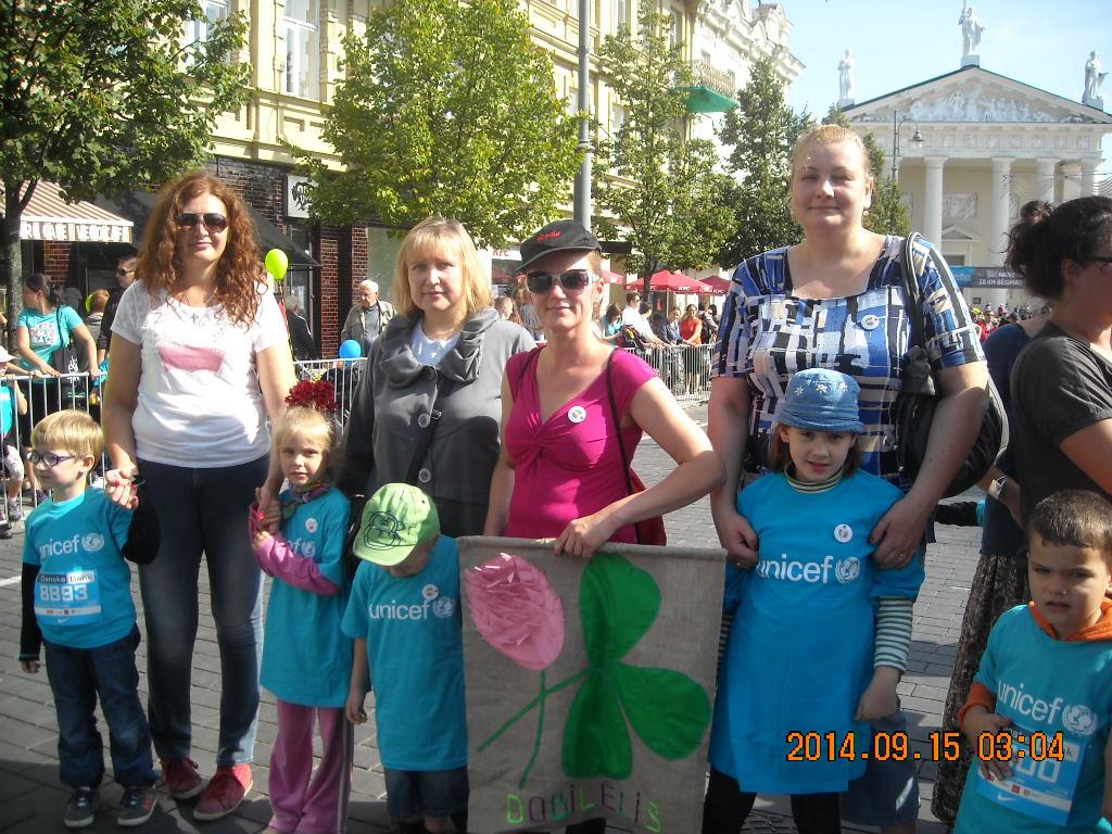 UNICEF maratonas 2014